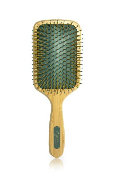 Agave Bamboo Paddle Brush, Agave Healing Oil Paddle Bürste